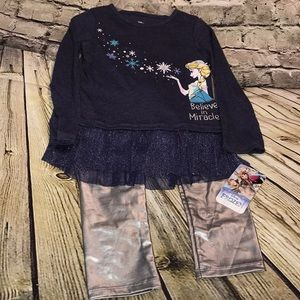 Girl's Frozen outfit